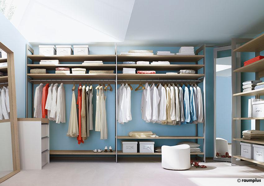 Begehbare Kleiderschränke - Tischlerei Böhm